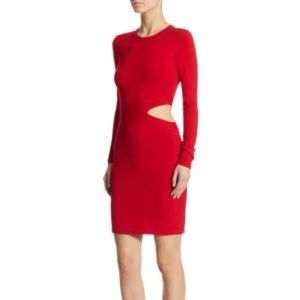 Elizabeth James long sleeve cute our dress knit